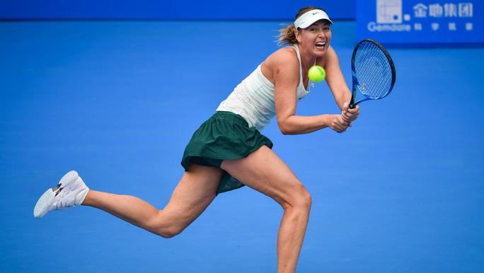 Tiếp đà hưng phấn, Sharapova tiến vào tứ kết Thâm Quyến mở rộng - Ảnh 1.