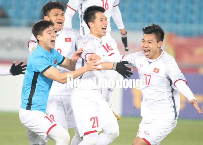 Hơn 15 tỉ đồng tiền thưởng cho U23 Việt Nam - Ảnh 1.
