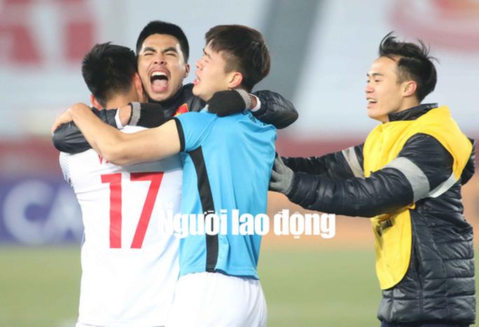U23 Việt Nam xuất sắc nhất giải châu Á - Ảnh 1.