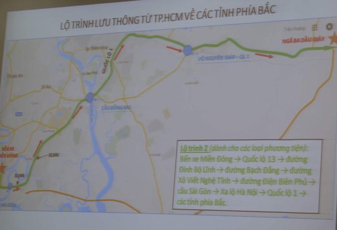 TP HCM: Nhiều hướng giải cứu kẹt xe dịp Tết - Ảnh 1.