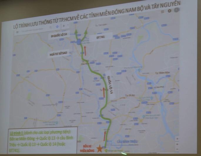 TP HCM: Nhiều hướng giải cứu kẹt xe dịp Tết - Ảnh 2.