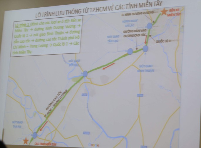 TP HCM: Nhiều hướng giải cứu kẹt xe dịp Tết - Ảnh 3.