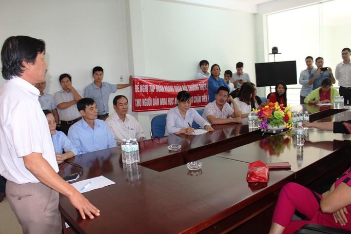Khách hàng vây dự án nhà ở xã hội Hoàng Quân - Nha Trang vì trễ hẹn - Ảnh 1.