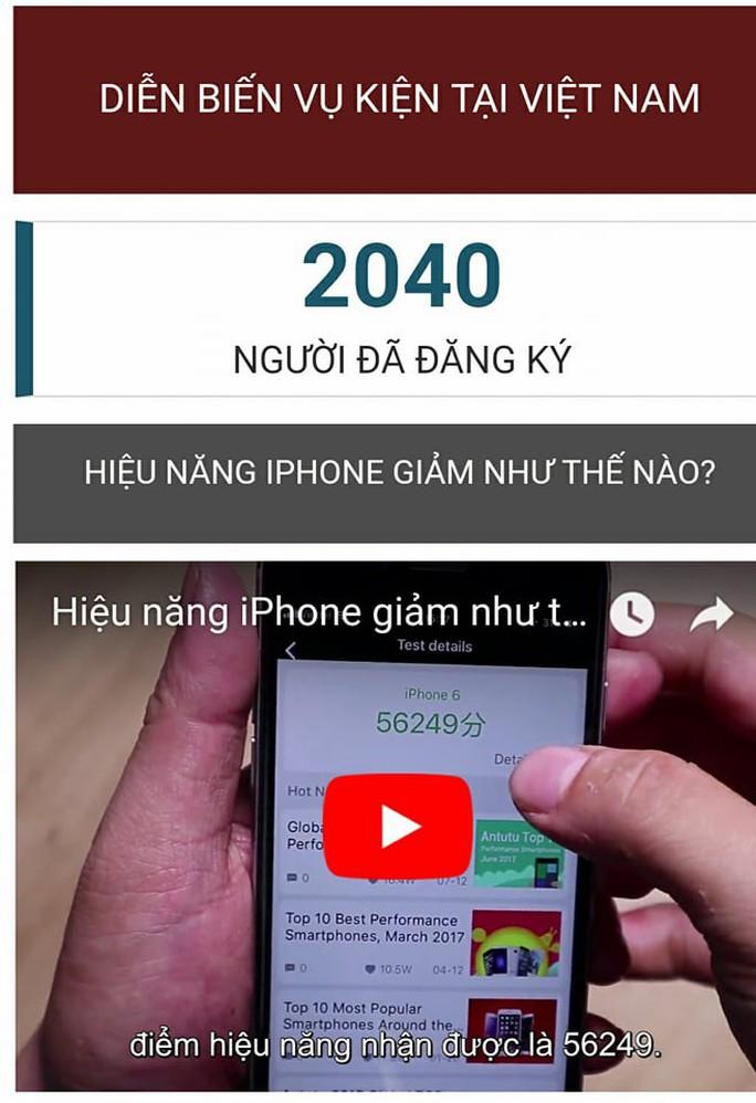 Đã có hơn 2.000 người Việt đăng ký tham gia kiện Apple - Ảnh 1.