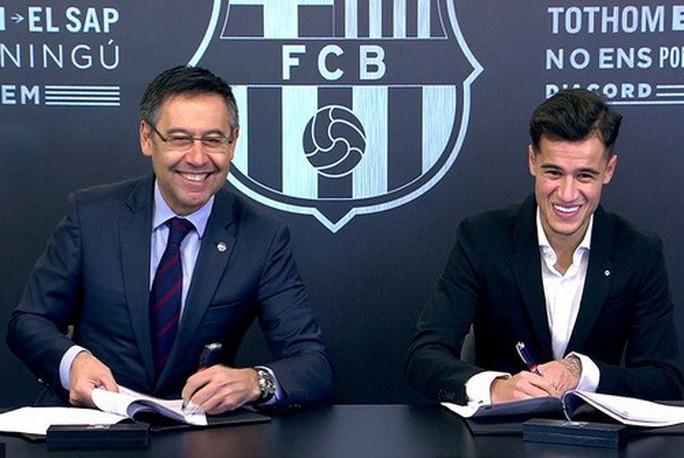 Thương binh Coutinho chào sân hợp đồng bom tấn tại Barcelona - Ảnh 3.