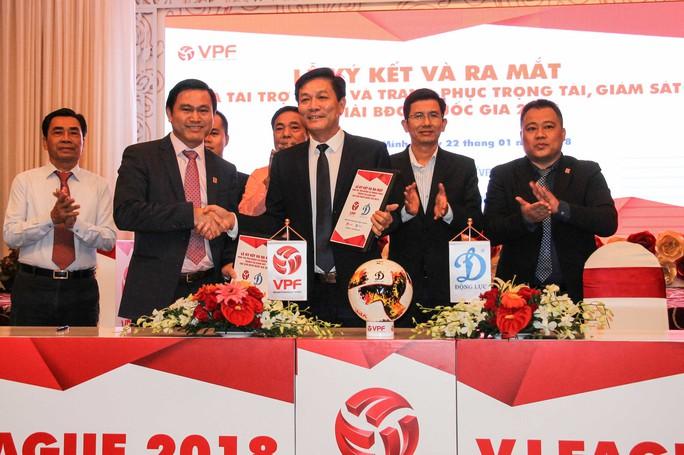 V-League 2018 vẫn chưa có nhà tài trợ chính thức - Ảnh 3.