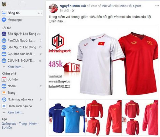 Mạng xã hội Facebook tràn ngập sắc đỏ chiến thắng - Ảnh 4.