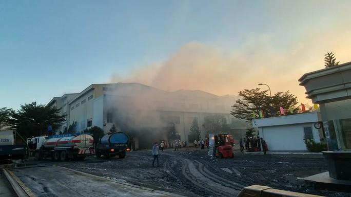 Cháy lớn tại Nhà máy giấy Sài Gòn ở Bà Rịa - Vũng Tàu - Ảnh 3.