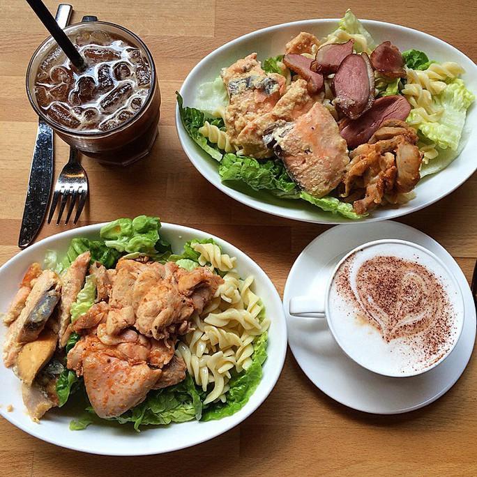 Khu ăn uống sang trọng khó tin của ĐHQG Singapore - Ảnh 9.