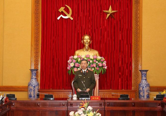 Bộ trưởng Tô Lâm chủ trì họp Đảng ủy Công an Trung ương - Ảnh 1.