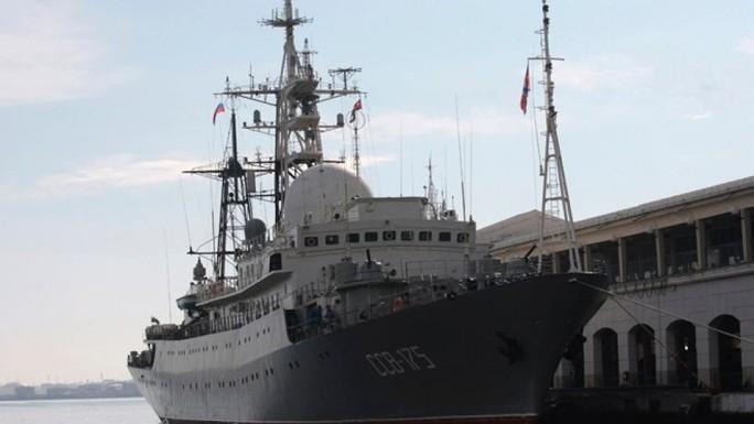 Tàu do thám Nga bị tố áp sát căn cứ quân sự Mỹ - Ảnh 1.