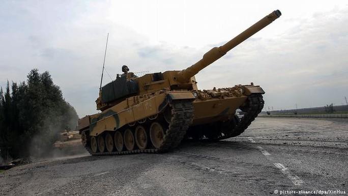 Đức ngồi trên đống lửa vì TNK dùng xe tăng Leopard đánh người Kurd - Ảnh 1.