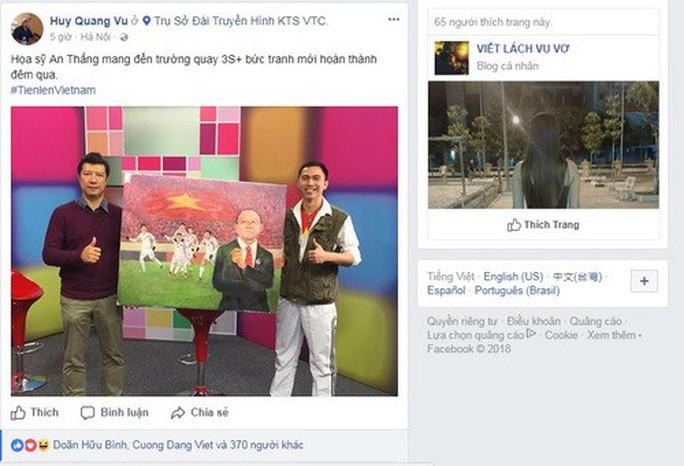 Mạng xã hội Facebook tràn ngập sắc đỏ chiến thắng - Ảnh 8.