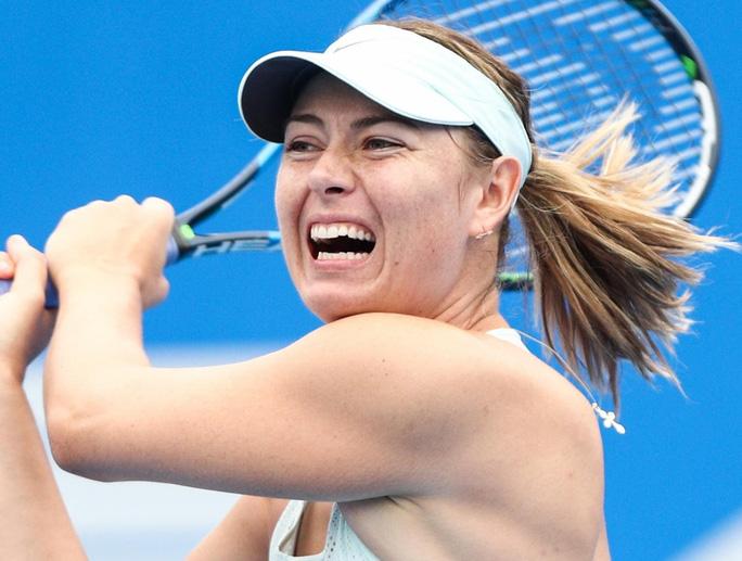 Tiếp đà hưng phấn, Sharapova tiến vào tứ kết Thâm Quyến mở rộng - Ảnh 3.