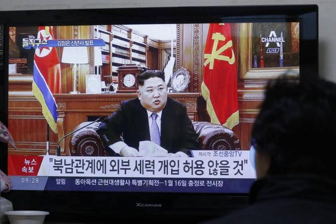 Phát biểu đầu năm, ông Kim Jong-un dọa tìm con đường mới - Ảnh 1.