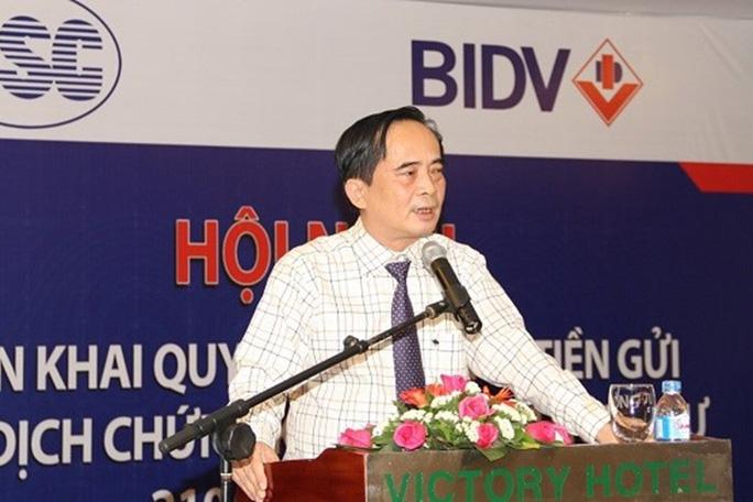 Bắt tạm giam nguyên phó tổng giám đốc BIDV Đoàn Ánh Sáng - Ảnh 1.