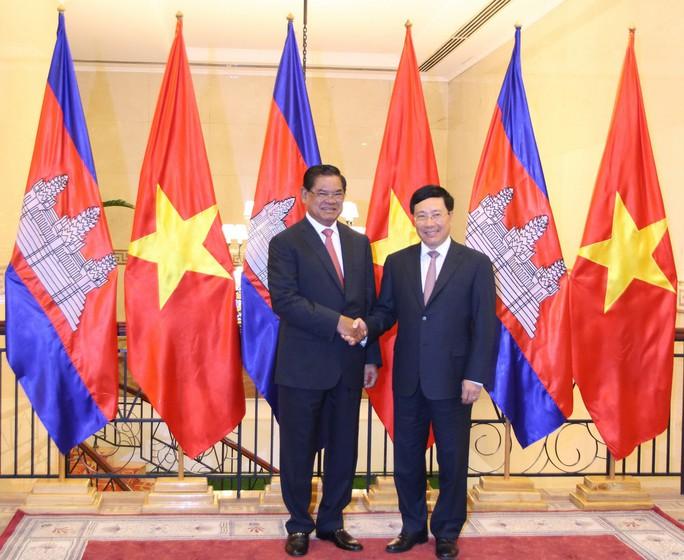 Việt Nam-Campuchia đặc biệt chú trọng hợp tác và phát triển các tỉnh biên giới - Ảnh 1.