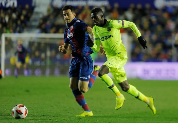 Clip: Barcelona thua sốc trước Levante ở Copa Del Rey - Ảnh 1.