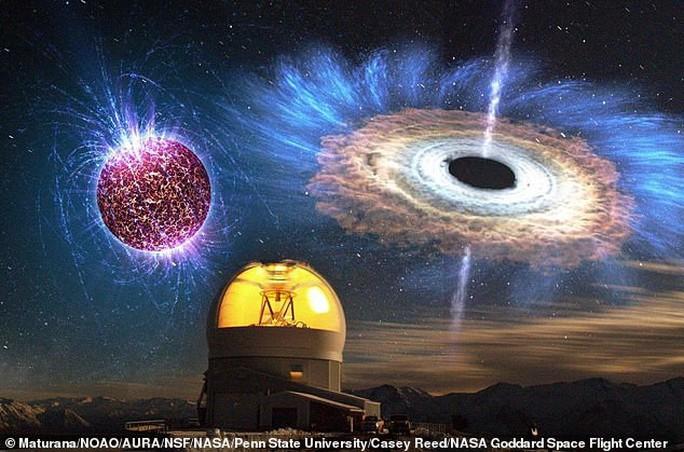 Lỗ đen quái vật là cổng vào thế giới khác? - Ảnh 2.