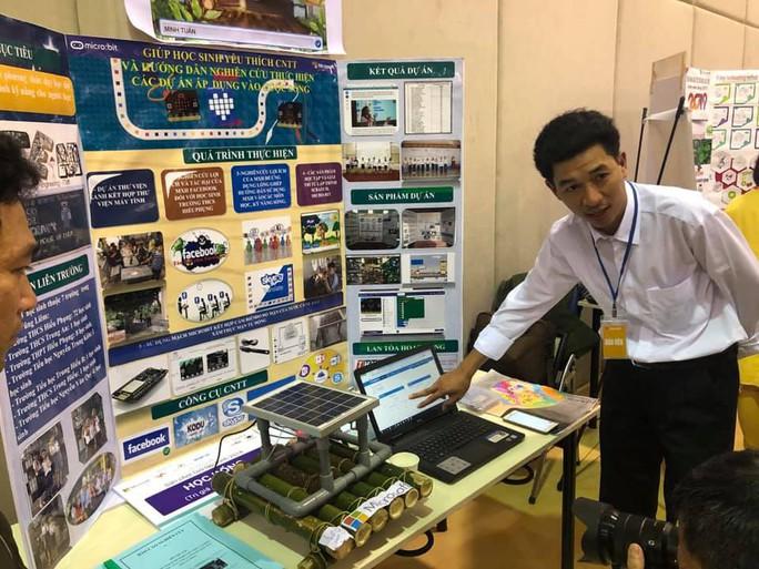 Dự án Vì một môi trường không khói thuốc đoạt giải nhất Diễn đàn giáo dục sáng tạo Việt Nam - Ảnh 1.