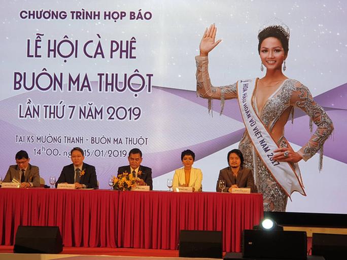 Hoa hậu H'Hen Niê làm đại sứ truyền thông của Lễ hội Cà phê Buôn Ma Thuột - Ảnh 2.