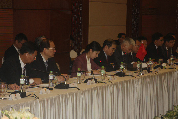 Đàm phán với Trung Quốc, Việt Nam bày tỏ quan ngại về diễn biến trên Biển Đông - Ảnh 3.