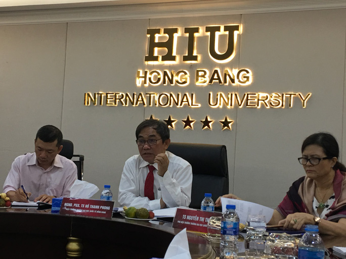 Trường ĐH Quốc tế Hồng Bàng thi đánh giá năng lực để xét tuyển - Ảnh 1.