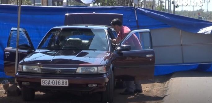 Không có việc ôtô của cán bộ kiểm lâm ở Bình Phước bị gài mìn - Ảnh 1.