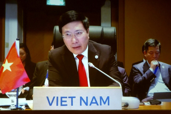 Phó Thủ tướng: Hoạt động quân sự hoá tiếp tục gia tăng trên Biển Đông - Ảnh 1.