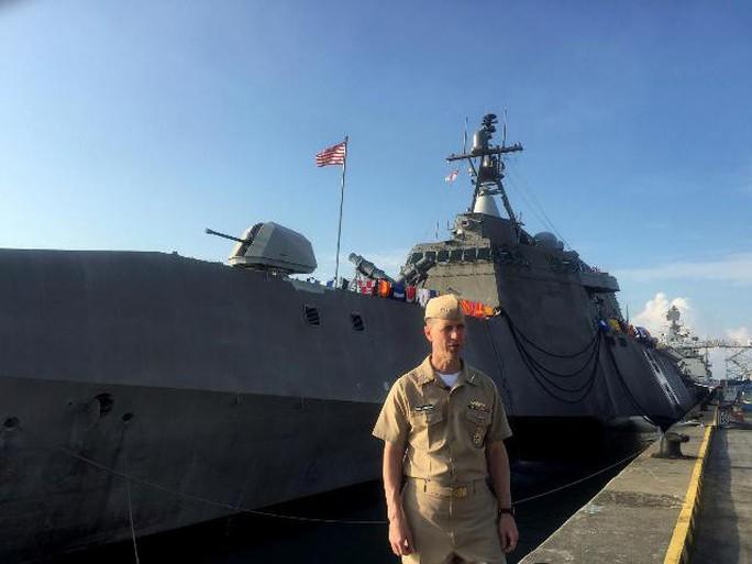 Mặc Trung Quốc dọa, tàu sân bay Mỹ nhăm nhe qua eo biển Đài Loan - Ảnh 1.