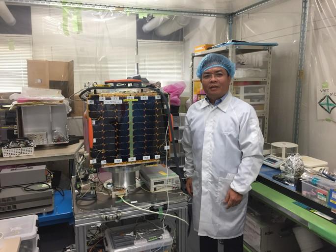 Vệ tinh MicroDragon nâng tầm Việt Nam - Ảnh 1.