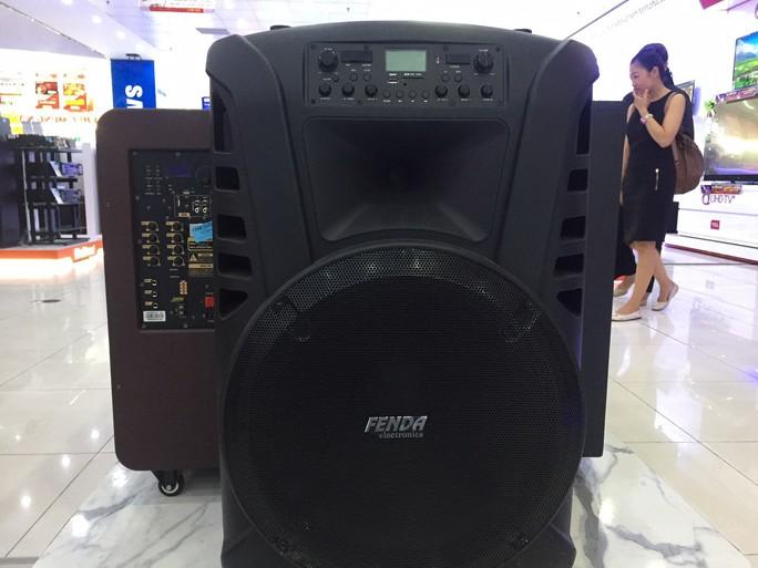 Loa kéo hát karaoke đắt hàng dịp Tết - Ảnh 2.