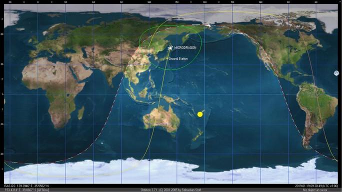 Thu được những tín hiệu đầu tiên của vệ tinh Made by Việt Nam - Ảnh 1.