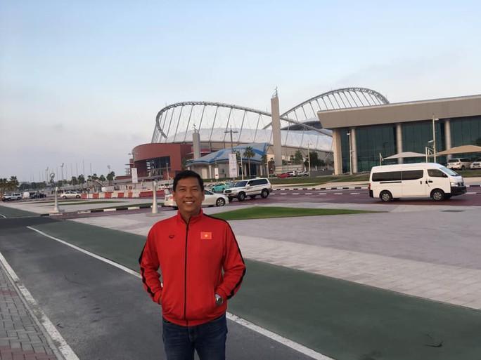 Tuyển Việt Nam xả trại, tham quan các siêu công trình xa hoa ở Qatar - Ảnh 2.