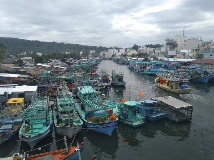 """Tàu cao tốc tạm ngưng hoạt động vì bão số 1, nhiều du khách """"kẹt"""" lại Phú Quốc - Ảnh 2."""