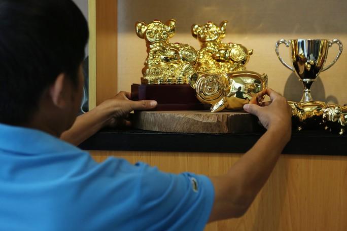 Cận cảnh tượng heo vàng đang gây sốt dịp Tết Kỷ Hợi - Ảnh 10.