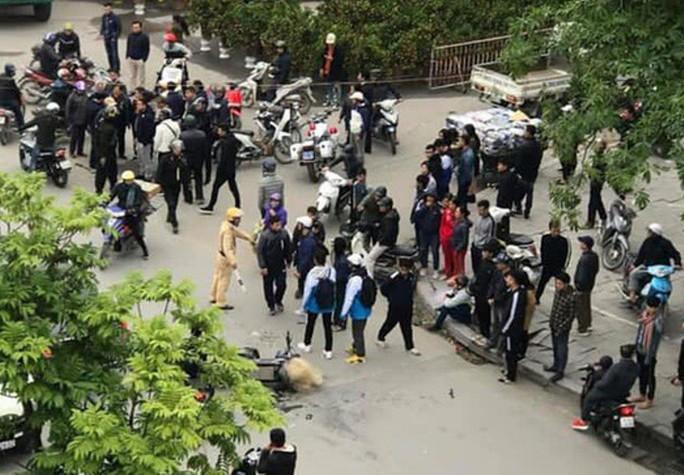 """Trích xuất camera không có việc CSGT Thanh Hóa """"quăng lưới"""" trúng học sinh té ngã - Ảnh 1."""