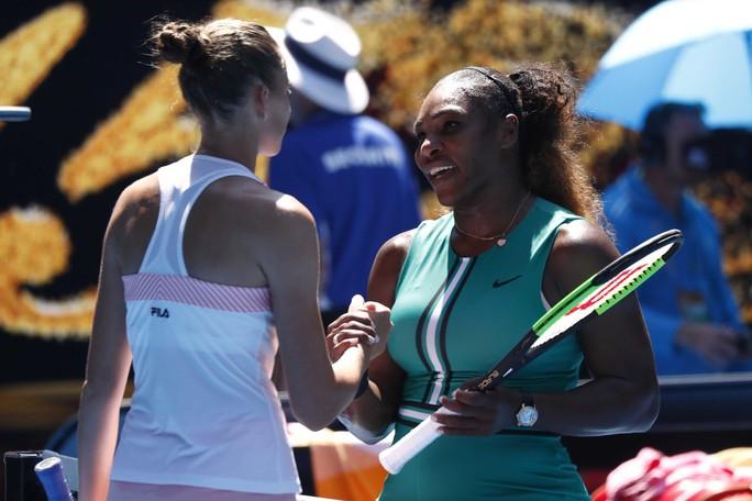 Vấp ngã phút cuối, Serena Williams bị loại ở tứ kết - Ảnh 4.