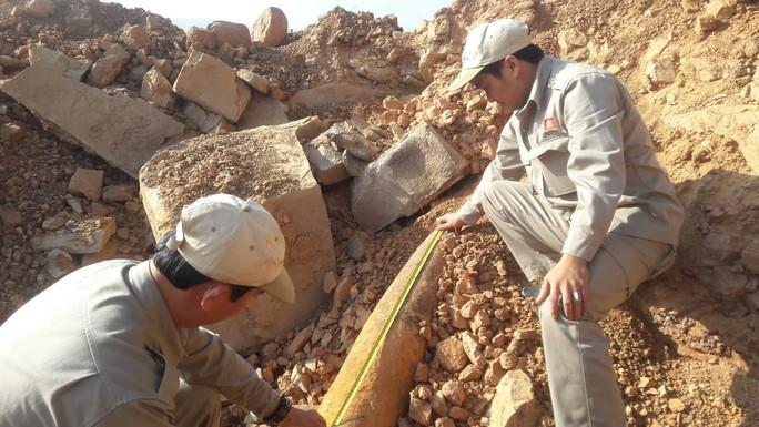 Thi công công trình, phát hiện quả bom nặng 113 kg - Ảnh 1.