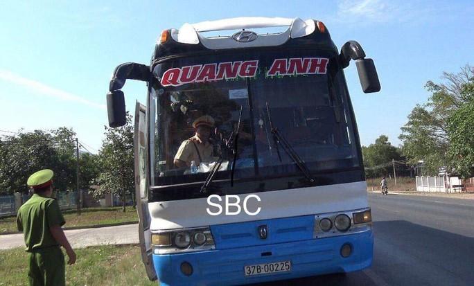 Bình Thuận: Phát hiện tài xế xe khách dương tính ma túy - Ảnh 1.