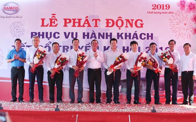 Công đoàn SAMCO phát động thi đua vận tải và chăm lo cho CNVC-LĐ Tết 2019 - Ảnh 1.