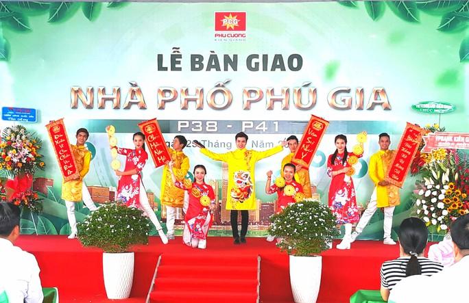 Đảo nhân tạo ở Kiên Giang chính thức đón nhận những cư dân đầu tiên - Ảnh 1.