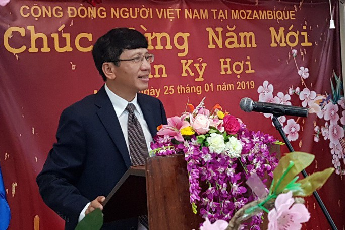 Người Việt tại Mozambique gặp gỡ mừng Xuân Kỷ Hợi - Ảnh 1.