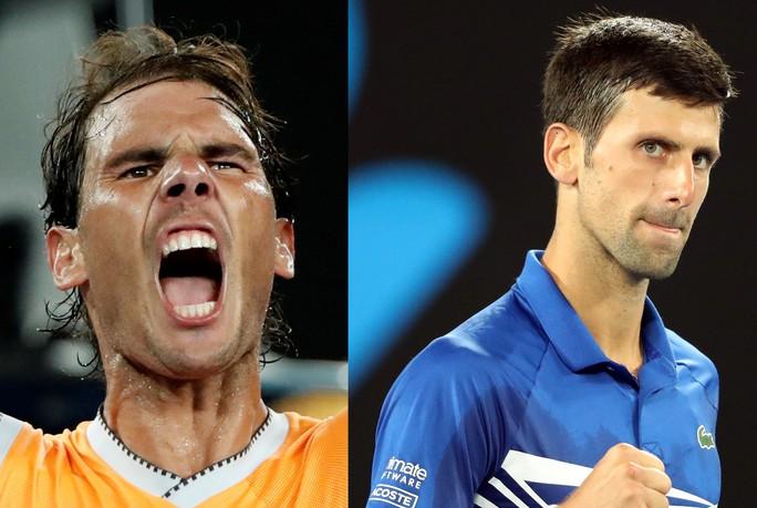 Hấp dẫn với siêu kinh điển Nadal - Djokovic - Ảnh 1.