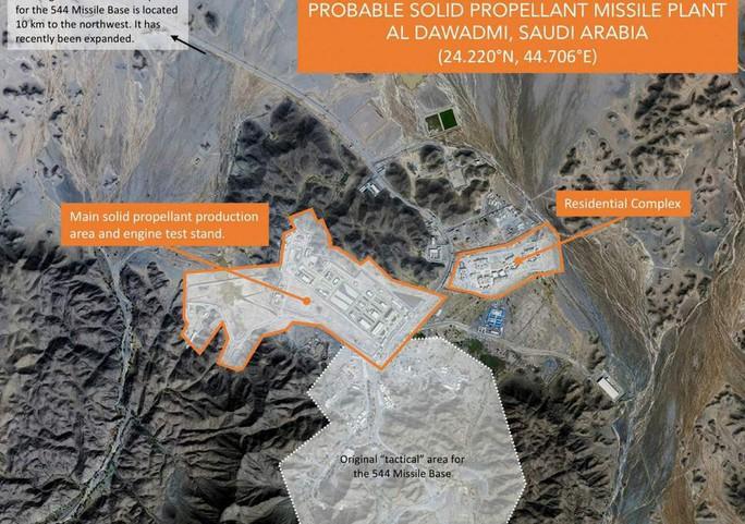 Ả Rập Saudi bị nghi chế tên lửa đạn đạo giống Trung Quốc - Ảnh 1.