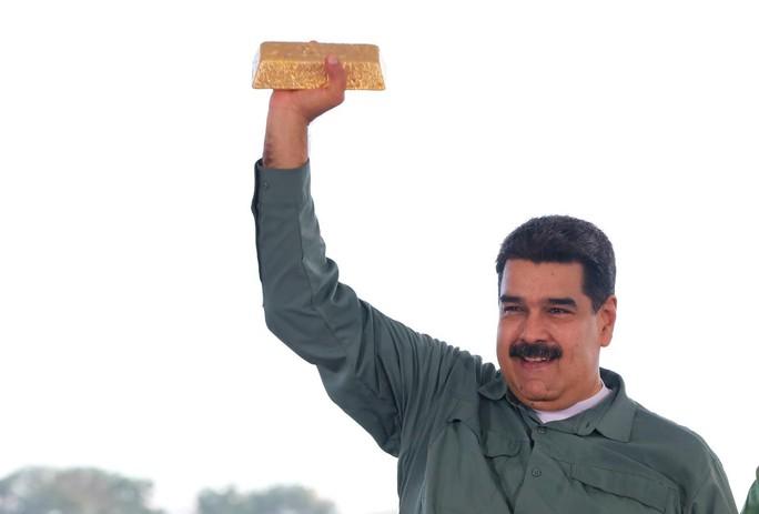 Venezuela: Thủ lĩnh đối lập đề nghị Anh không trả vàng cho ông Maduro - Ảnh 1.