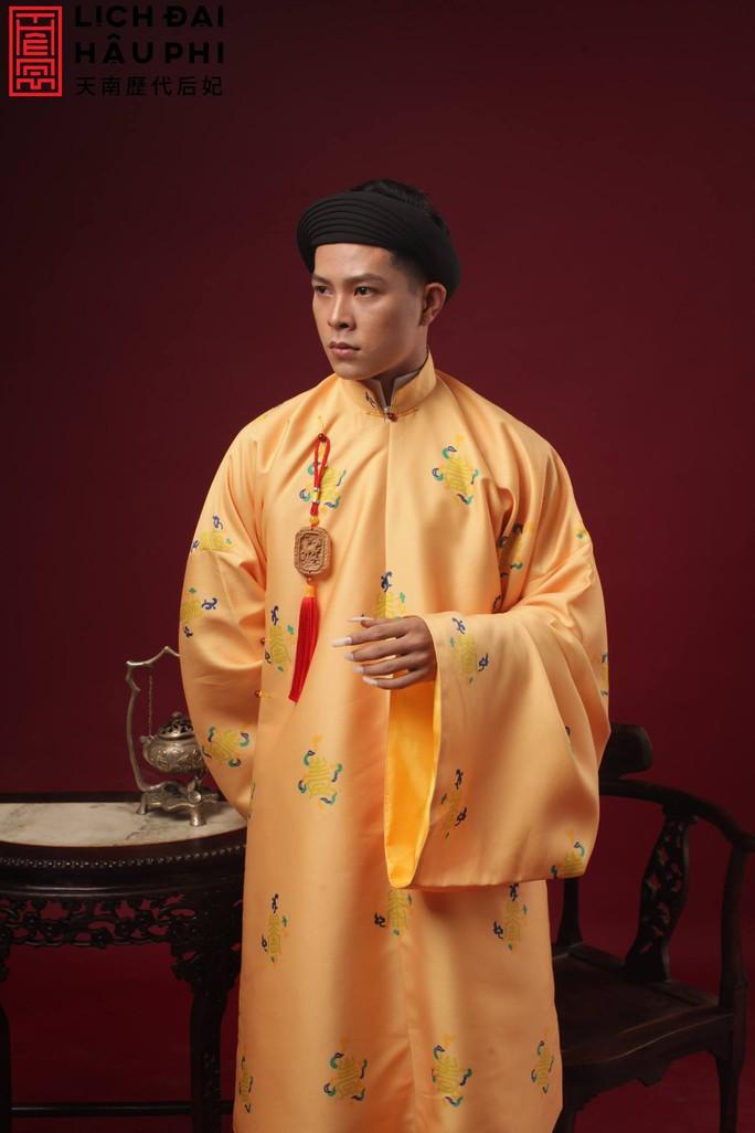 Vân Trang khác lạ khi hóa Hoàng hậu Lệ Thiên Anh - Ảnh 7.