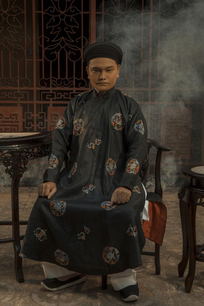 Vân Trang khác lạ khi hóa Hoàng hậu Lệ Thiên Anh - Ảnh 10.