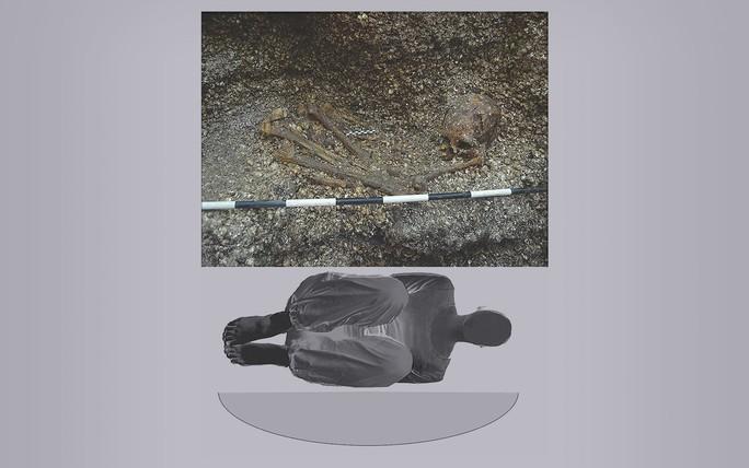 Cô gái bí ẩn nằm giữa vỏ sò trong mộ cổ 5.900 năm - Ảnh 1.
