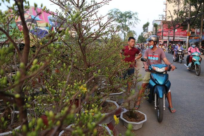 Chợ hoa Tết Bến Bình Đông ngày càng đìu hiu dù cận Tết - Ảnh 3.